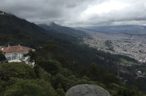 Near Monserrate in Bogota, Colombia. (2016)