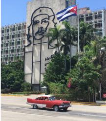 Memorial to Che Guevara in La plaza de la revolucion en Habana, Cuba. (2017)