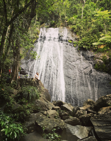 In Puerto Rico's El Yunque National Rainforest. (2015)