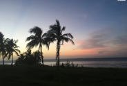 Sunsets near the morros in Havana, Cuba. (2017)