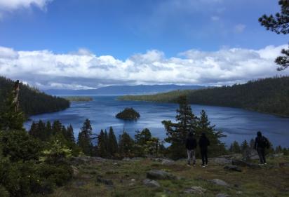 Lake Tahoe, California. (2017)